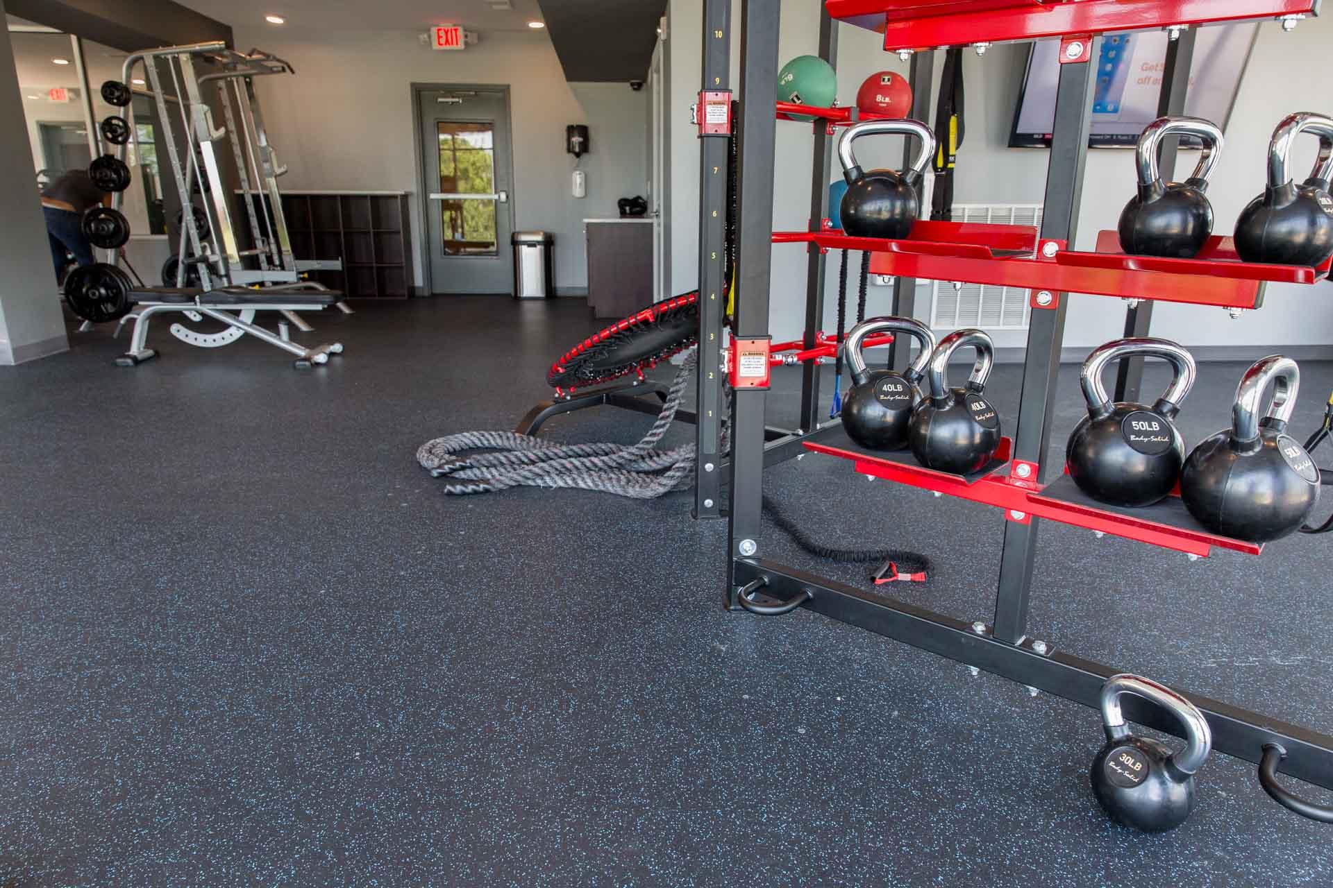 Flooring for Fitness Centers