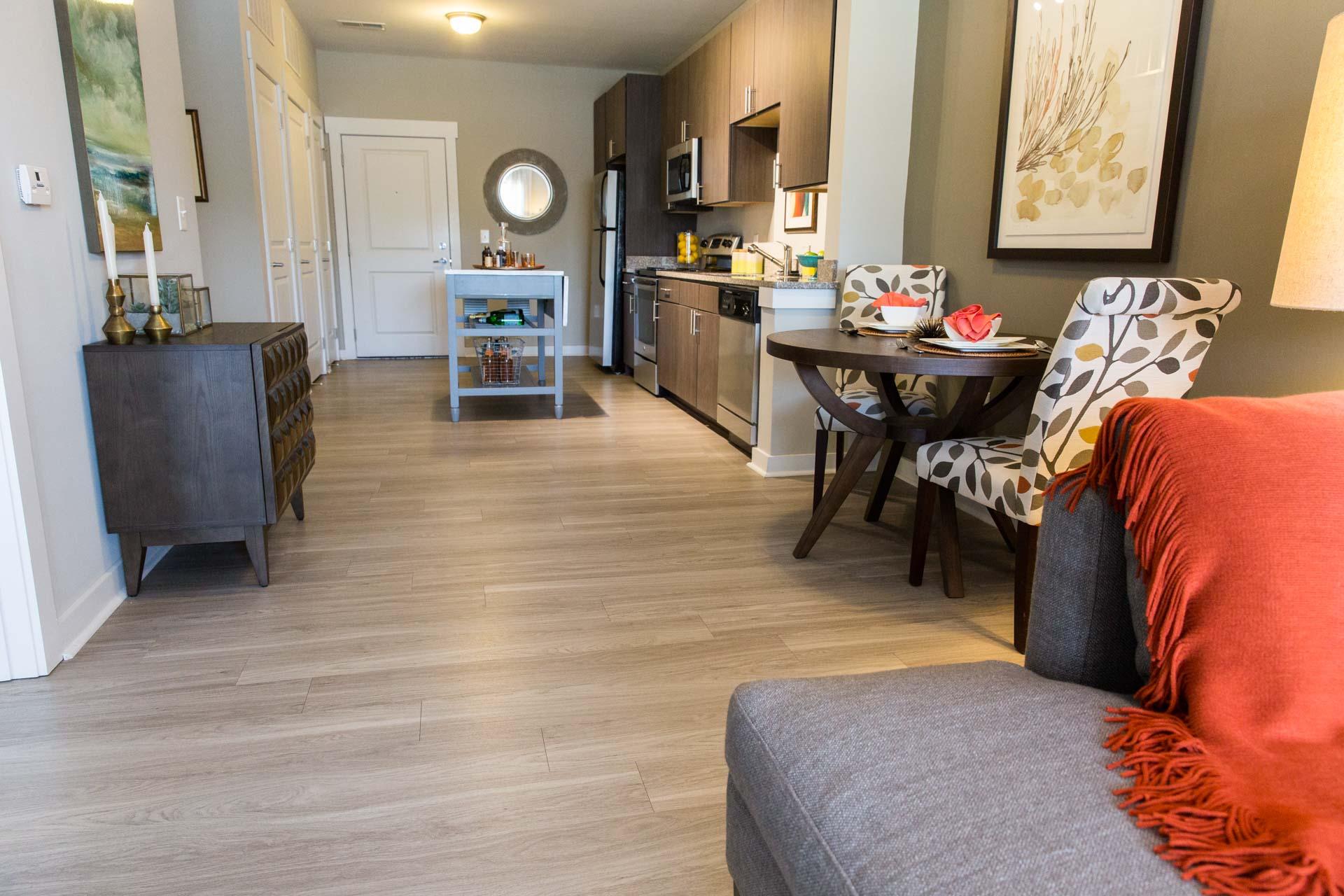 Flooring for New Condominium