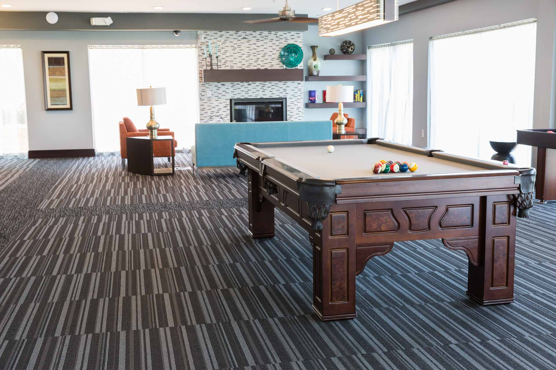 Recreation Room Flooring