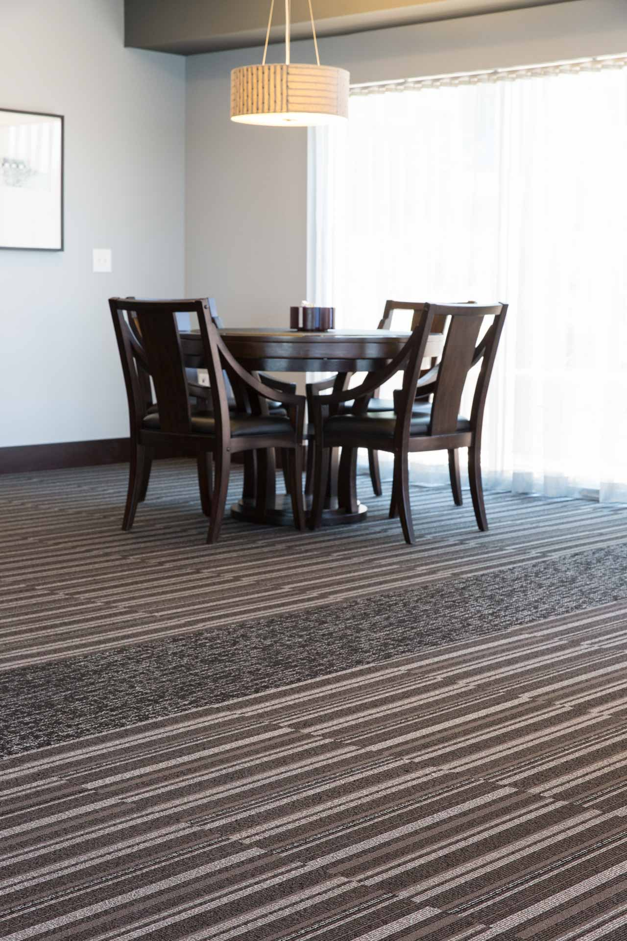 Striped Carpet Tiles