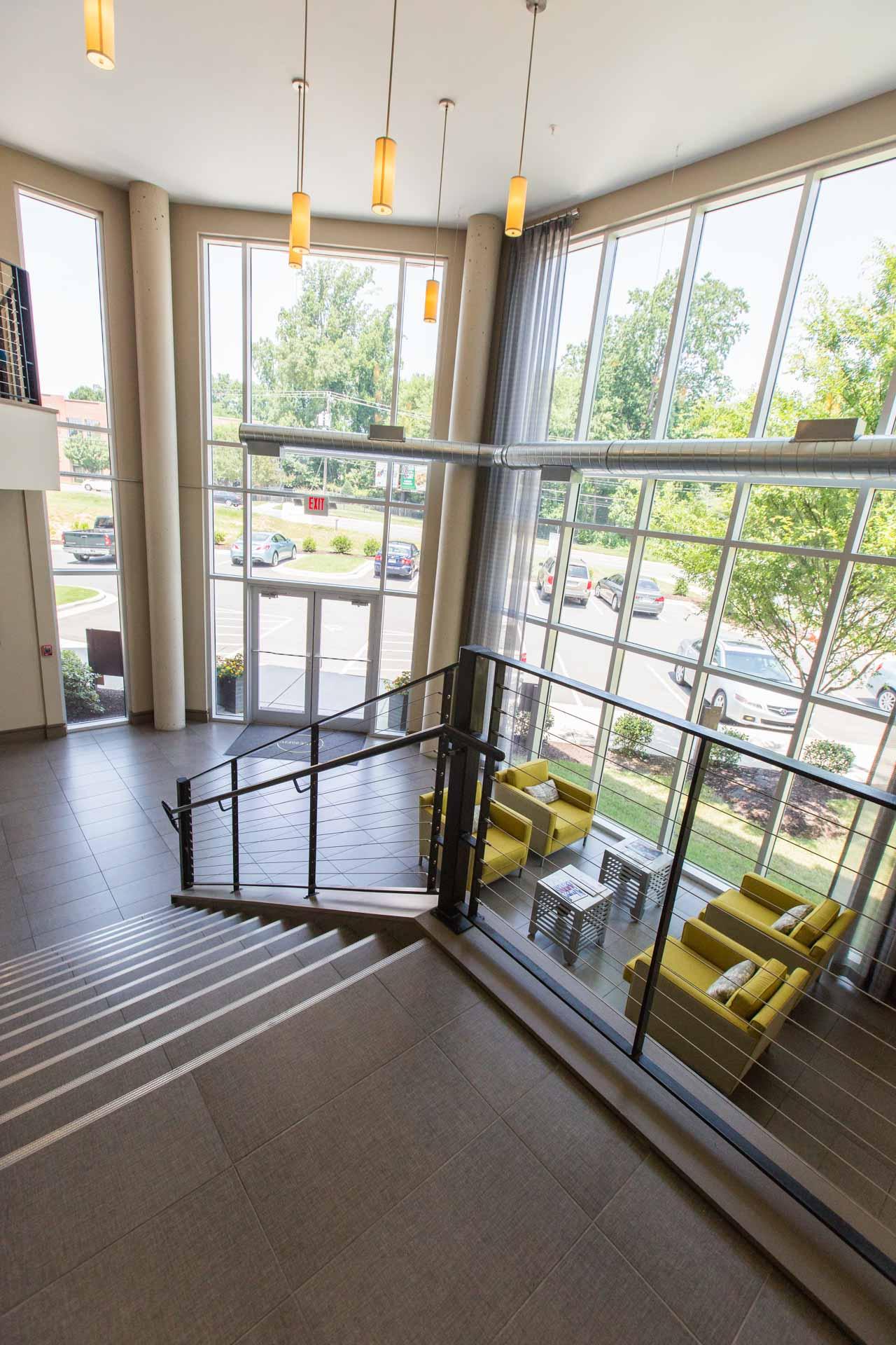Tile Stairway